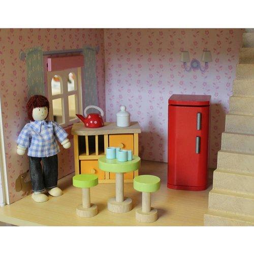 Le Toy Van Poppenhuis Meubeltjes Deluxe Starter Set (NEW)