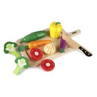 Houten Snij groenten set