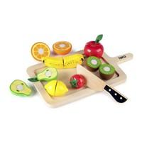 Houten Snij fruit set