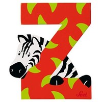 Houten Letter Dier - Z