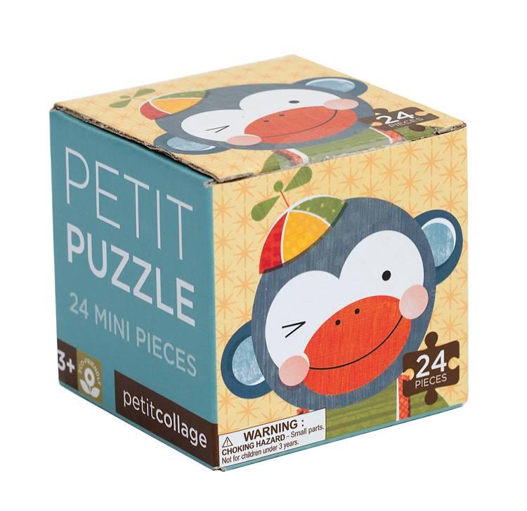 Petit Collage Mini Puzzel Funny Animal