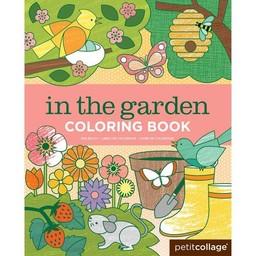 Petit Collage Kleurboek In de Tuin