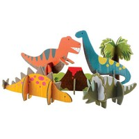 Pop Out 3D Dinosaurussen