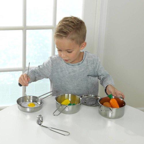 Kidkraft Pannenset en Etenswaren 11-delig