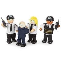 Politie Agenten en Gevangene