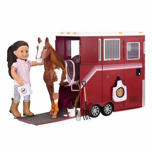 Our Generation Mane Attraction Paarden Trailer