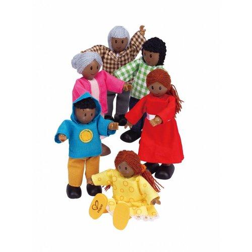 Hape Poppenhuis poppetjes African Family