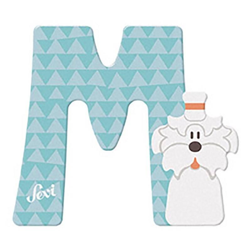 Sevi Houten Letter Dier - M