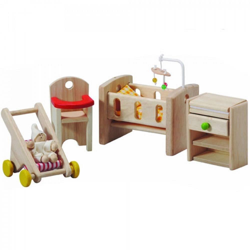 Plan Toys Poppenhuis Babykamer