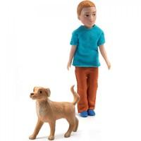Poppenhuis Jongen Xavier met Hond