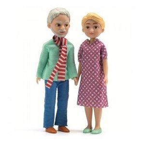 Djeco Poppenhuis Opa en Oma