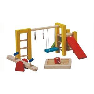 Plan Toys Poppenhuis Speeltuin