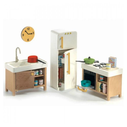 Djeco Poppenhuis Keuken