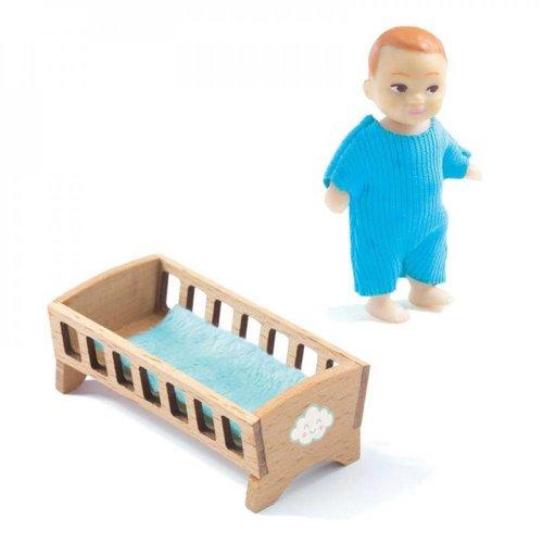Djeco Poppenhuis Babykamer Sacha