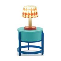 Poppenhuis Tafel Lamp met Tafel