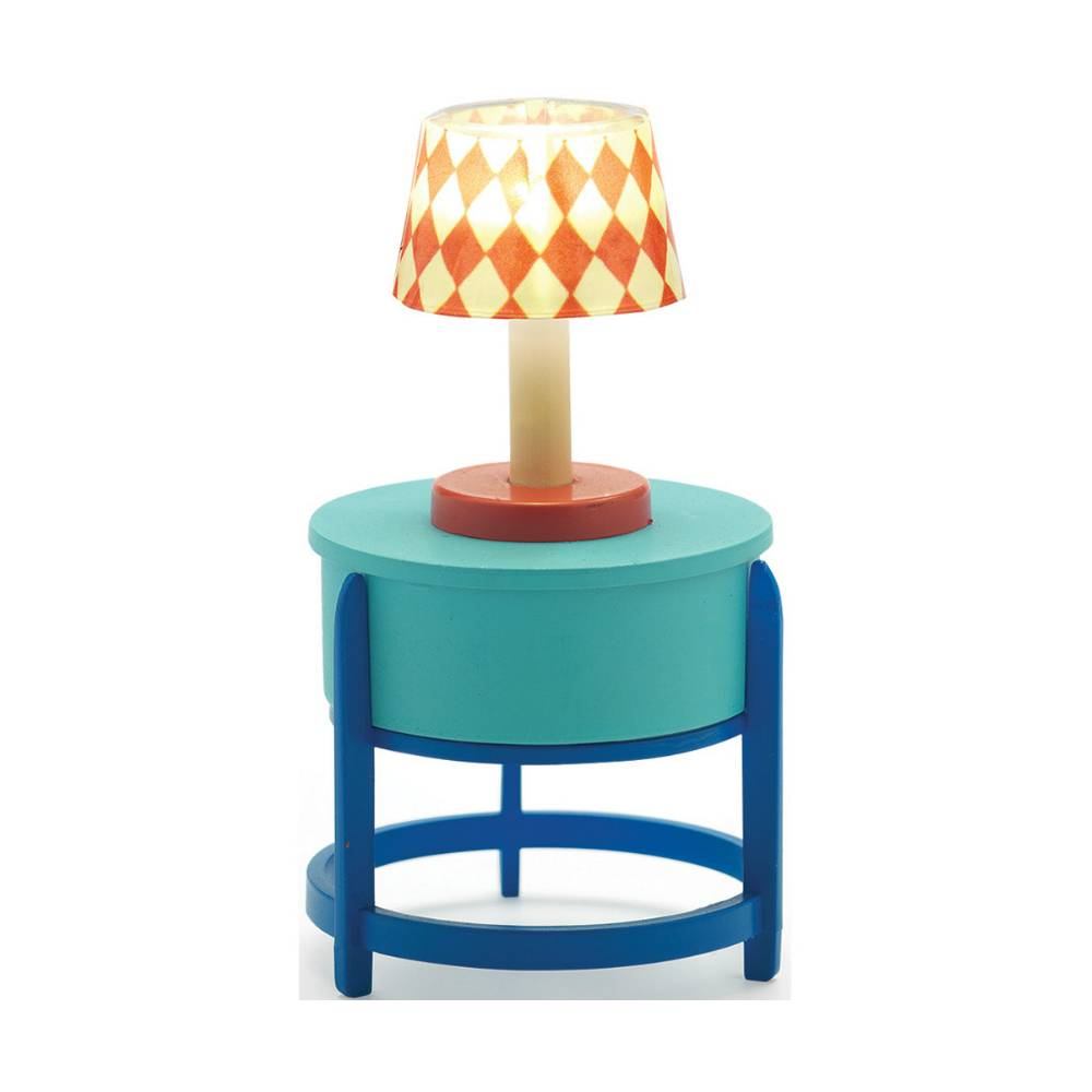 Djeco Poppenhuis Tafel Lamp met Tafel