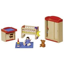 Goki Poppenhuis Babykamer