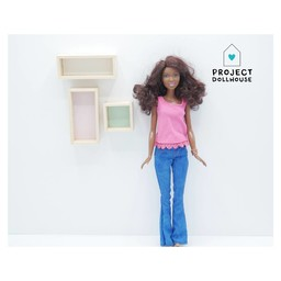 Project Dollhouse Wandkastjes Set Barbie