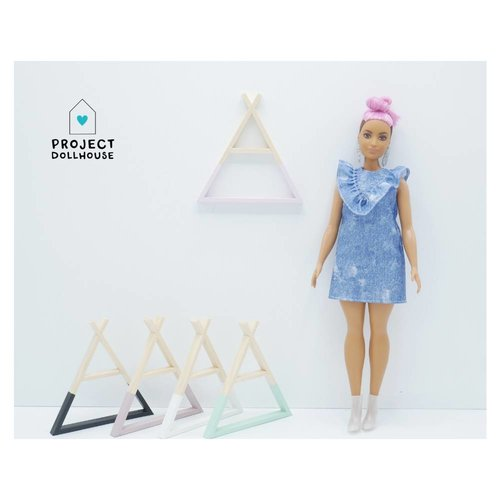 Project Dollhouse Tipi Wandrek Barbie