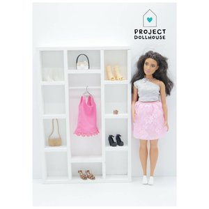 Project Dollhouse Kledingkast Barbie