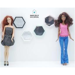 Project Dollhouse Houten Spiegel Barbie