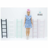 Decoratie Ladder Barbie