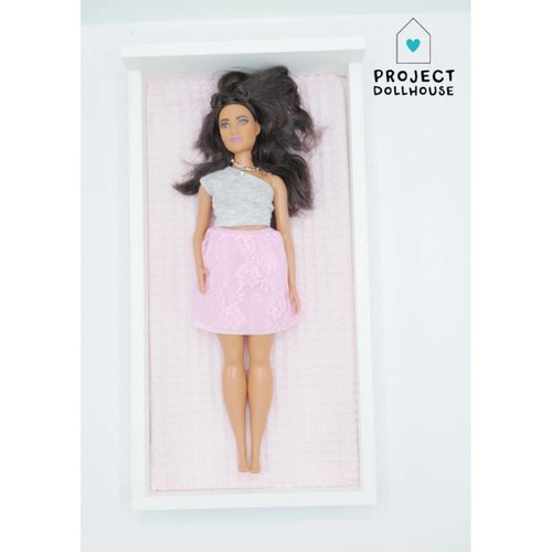 Project Dollhouse Barbie Bed Wit