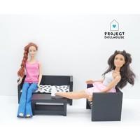Barbie Zitkamer Zwart
