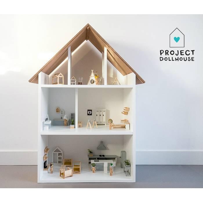 Verrassend Project Dollhouse Poppenhuis Minthe Groot | Bestel Eenvoudig PD-43