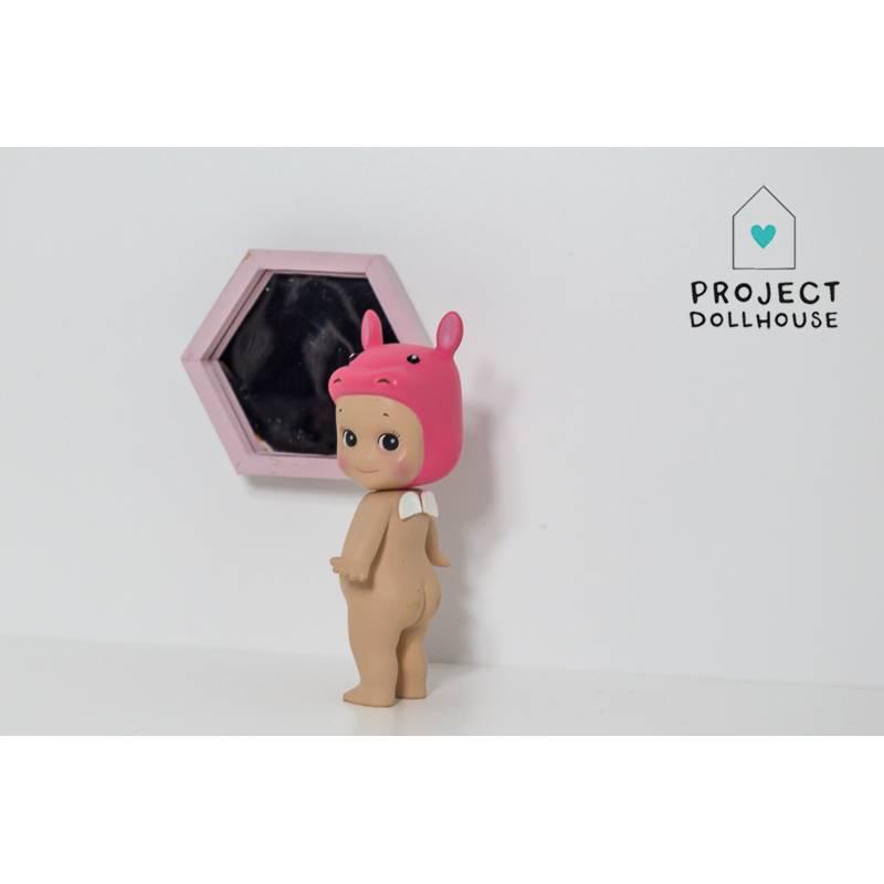 Project Dollhouse Poppenhuis Hexagon Spiegel