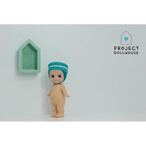 Project Dollhouse Poppenhuis Wandhuisje