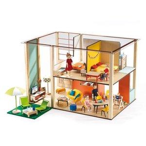 Djeco Cubic Poppenhuis