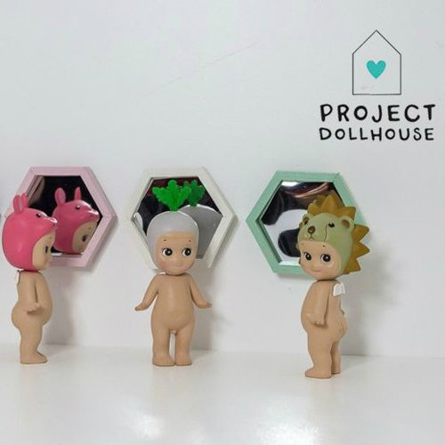 Project Dollhouse Poppenhuis Hexagon Spiegel