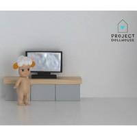 Poppenhuis Flatscreen TV