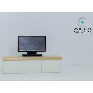 Project Dollhouse Poppenhuis TV Meubel