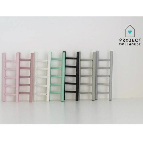 Project Dollhouse Poppenhuis Decoratie Ladder