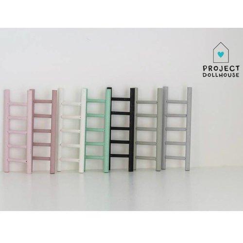 Project Dollhouse Poppenhuis Decoratie Ladder