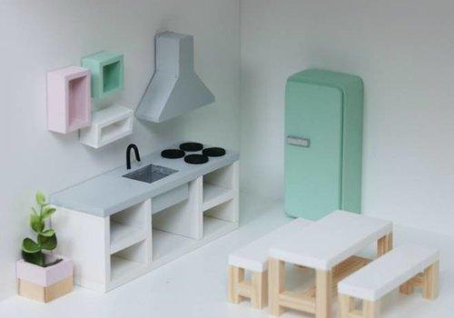 Project Dollhouse Poppenhuis Meubels