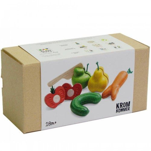 Plan Toys Fruit en Groente Kromkommer