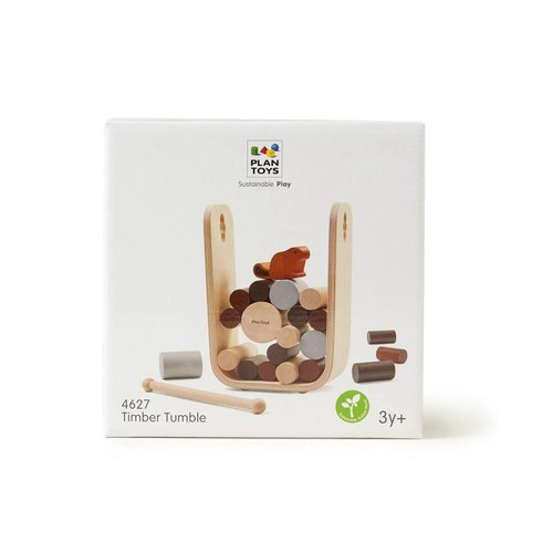 Plan Toys Beverspel Timber Tumble
