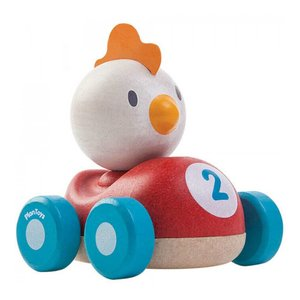 Plan Toys Auto Chicken Racer