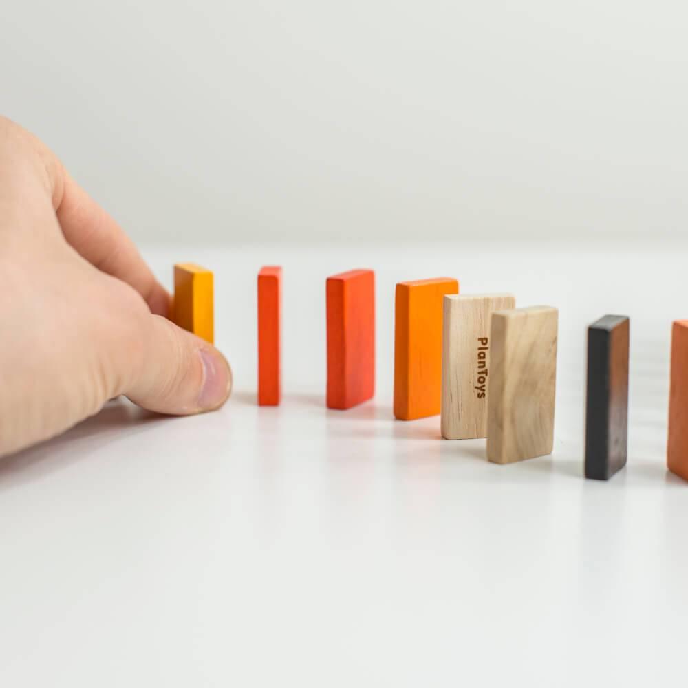 Plan Toys Mini Domino Spel