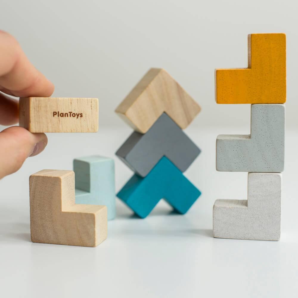 Plan Toys Mini Kubus Puzzel