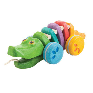 Plan Toys Trekdier Dancing Alligator Rainbow