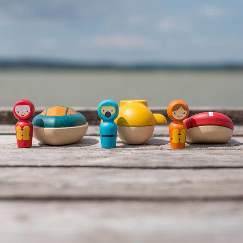Plan Toys Speedboot