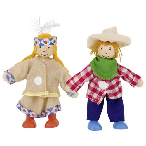 Goki Aankleed Poppetjes