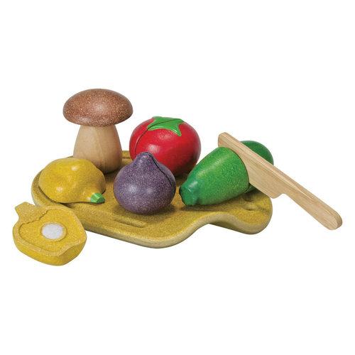 Plan Toys Houten Groenten Set