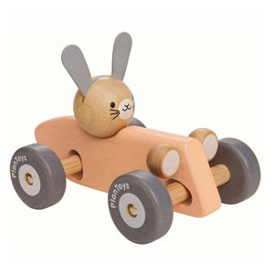 Plan Toys Bunny Racing Car