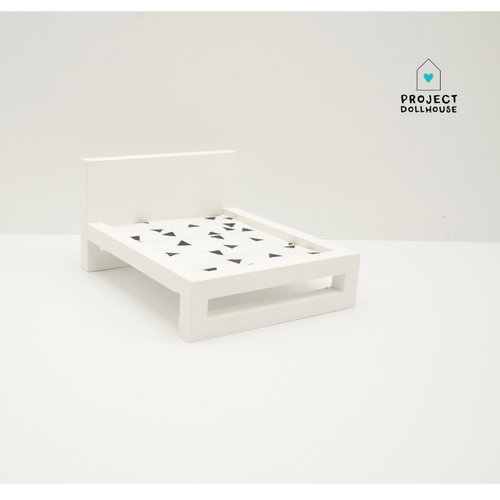 Project Dollhouse Poppenhuis Bed Groot