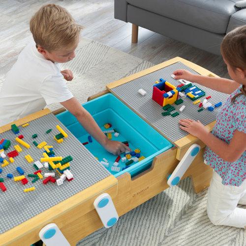 Kidkraft Building Brick Speel- en Opbergtafel